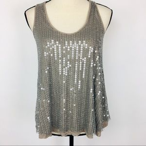 YA Los Angeles sequin tank top